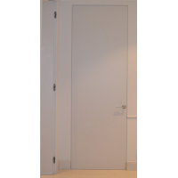 Двери скрытые Анкона  под покраску глухое полотно