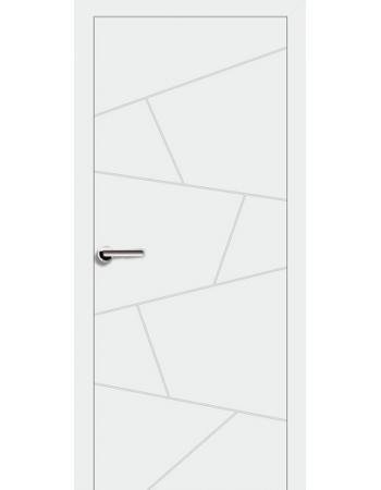 Двери Brama 13.6 Эмаль белая глухая