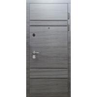 Двери Булат Магнат модель 518 Венге горизонт серый