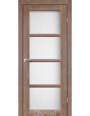 Межкомнатные двери ТМ DARUMI модель AVANT со стеклом сатин