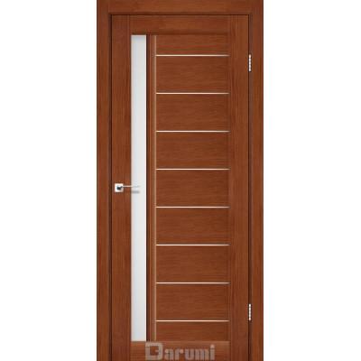 Межкомнатные двери ТМ DARUMI модель BORDO со стеклом сатин