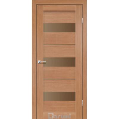 Межкомнатные двери ТМ DARUMI модель MARSEL со стеклом сатин бронза