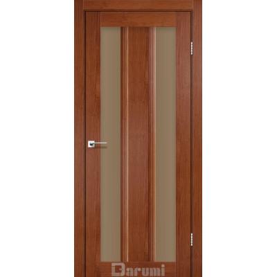Межкомнатные двери ТМ DARUMI модель SELESTA со стеклом сатин бронза