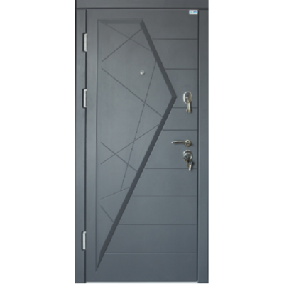 Вхідні двері Very Dveri Айсберг графіт (серія VIP +)