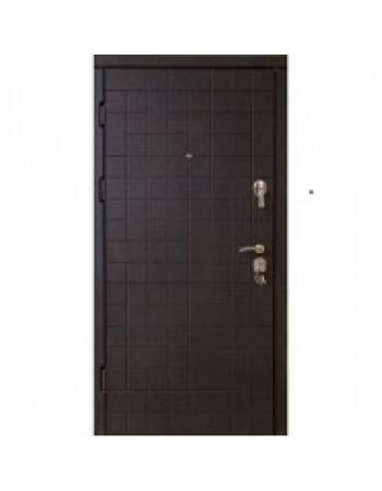 Двери входные модель Каскад венге темный/венге светлый VIP (квартира)