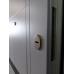 Вхідні двері Еліс серія БС замки SECUREMME біла всередині