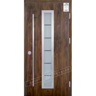 Двері GRAND HOUSE 73 Модель №1 ручка скоба (вуличні)