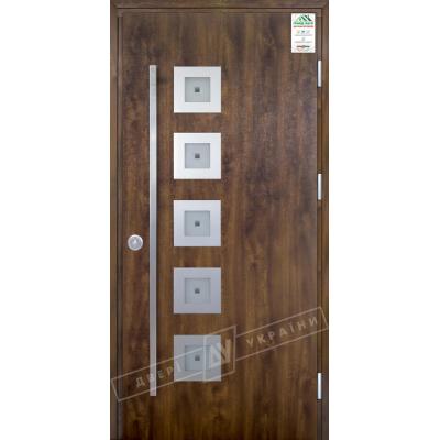 Входные двери Модель №2 ручка скоба (улица) серии GRAND HOUSE 73