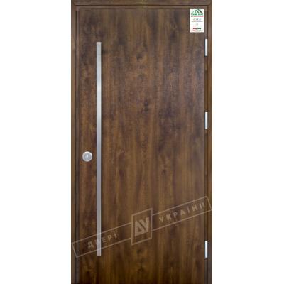 Вхідні двері Флеш ручка скоба (вулиця) серії GRAND HOUSE 73