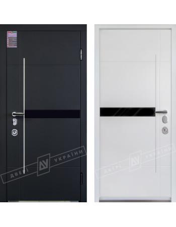 Входные двери Элис серия БС замки SECUREMME белая внутри