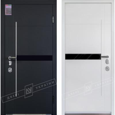 Входная дверь Элис серия Интер 5 с замком Mottura белая внутри