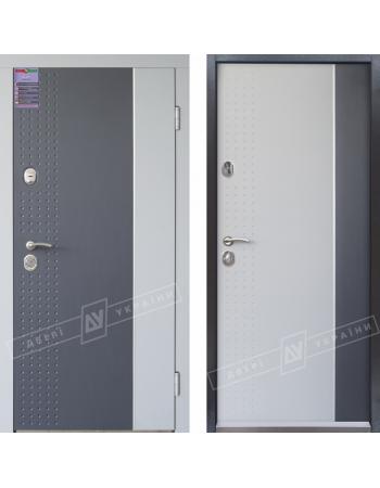 Двери Украины Леон 2 Антрацит / светло-серый 5/1 Kale