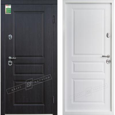 Входные двери Прованс серия БС белая внутри