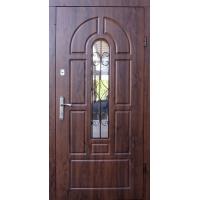 Двери Форт Арка Дуб темный (Улица, Vinorit)