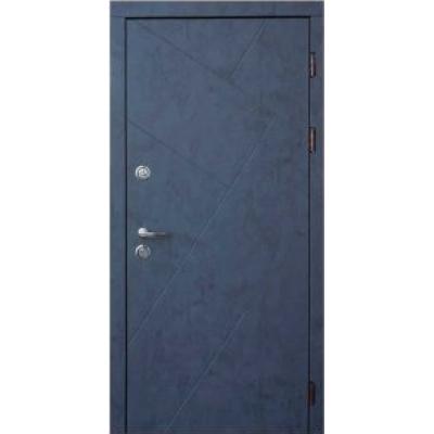 Двері вхідні Форт Тріо Авалон бетон антрацит