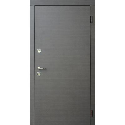 Двері вхідні Форт Тріо Гладь венге сірий