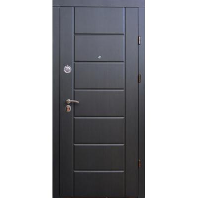 Двері вхідні Форт Тріо Канзас венге темний