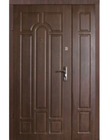 Двери Классик полуторные орех коньячный