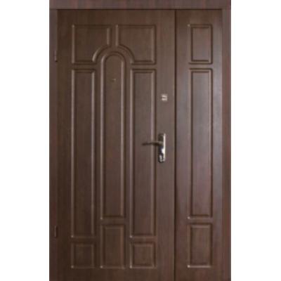 Двері Классік полуторні горіх коньячний