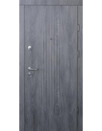Вхідні двері ТМ Форт - М Тріо Лайн Дуб шато ( Квартира )