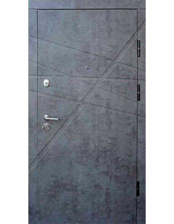 Двери Форт Протект - Стоун бетон серый