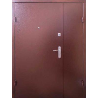 Двери полуторные  Метел-метал (Техно 2)