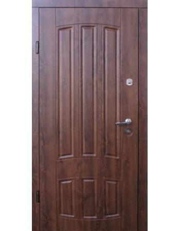 Двери Форт М Трио Трино Дуб темный