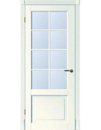 Распродажа межкомнатных дверей Тесоро К1 ПО белая эмаль