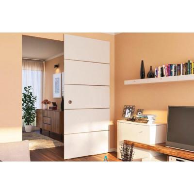 Комплект фурнитуры раздвижные двери DESIGN 80-M для 1-ого дверного полотна до 80 кг