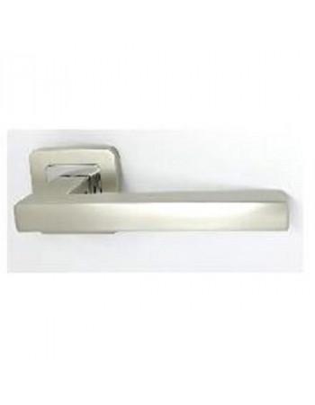 Ручки дверные Safita 465 R40 MSN-CP Хром - Сатин матовый