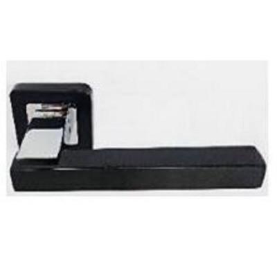 Ручки дверные Safita 280 R40 EBP/CP Черный | Хром