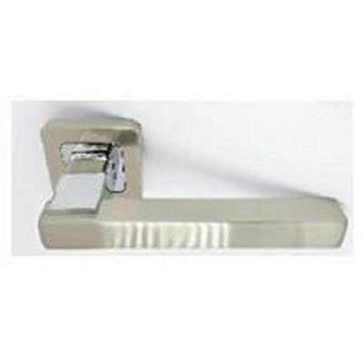 Ручки дверные Safita 280 R40 SN/CP Сатин | Хром