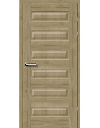 Двери 19.40 Брама дуб натуральный глухое