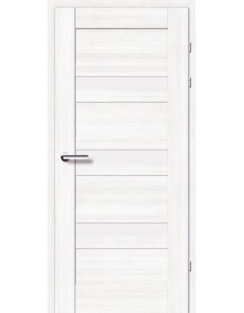 Двери 19.2 Брама береза стекло Сатин