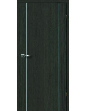 Двери Акцент 2.9 Брама дуб антрацит глухое