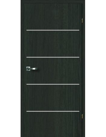 Двери Акцент 2.8 Брама дуб антрацит глухое