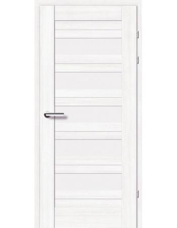 Двери 19.5 Брама береза стекло Сатин