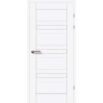 Двери 19.1 Брама белый гладкий глухое