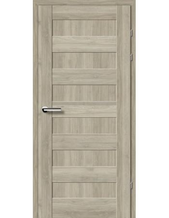 Двери 19.40 EuroDoors Брама орех серый глухое