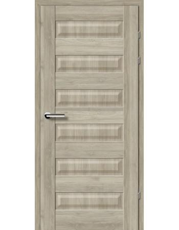 Двери 19.40 Брама орех серый глухое