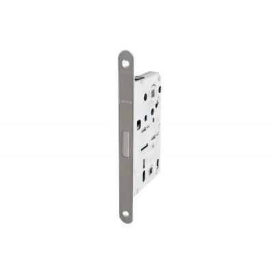 Комплект магнитного замка с планкой и шурупами WC 18х196мм сталь хромированная матовая 8/6мм
