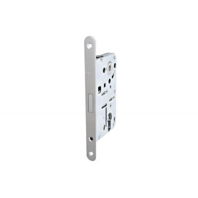 Комплект магнитного замка с планкой и шурупами PC 18х196мм сталь хромированная матовая 8/6мм