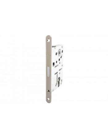 Комплект магнитного замка с планкой и шурупами PC 18х196мм сталь никелированная полированная 8/6мм