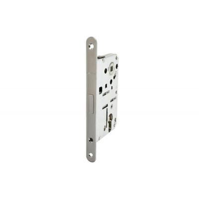 Комплект магнитного замка с планкой и шурупами PC 18х196мм сталь хромированная полированная 8/6мм