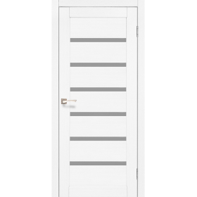 Двері Корфад міжкімнатні  PORTO PR-01 (білий ясен)