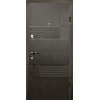 Двери Магда 121 Тип-2 Венге горизонт серый