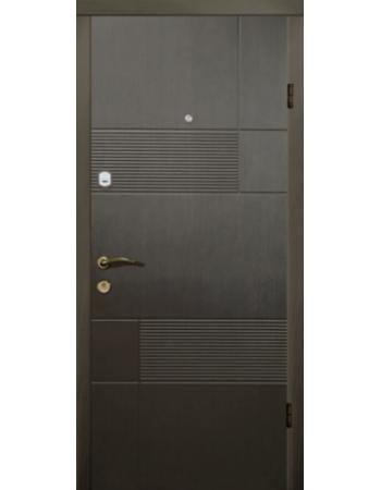 Двері Магда 121 Тип-2 Венге горизонт сірий Вулиця