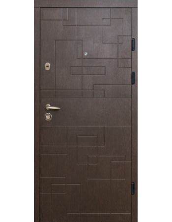 Двери МАГДА Тип-2 мод 333 Венге горизонт темный