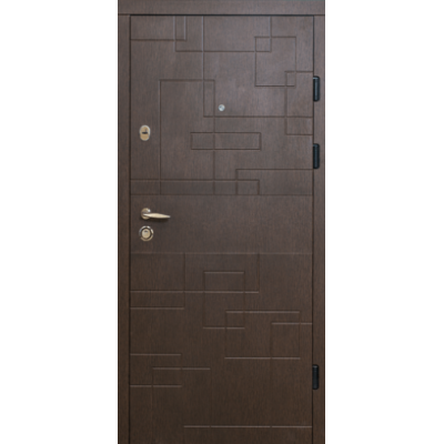 Двері МАГДА Тип-2 мод 333 Венге горизонт темний