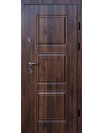 Двері МАГДА мод 334 Горіх морений темний Тип-2